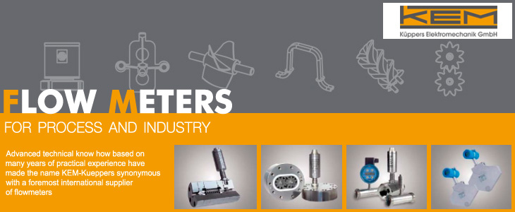 FLOW METERS FOR PROCESS AND INDUSTRY