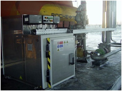 Additive dosing unit EVA Container